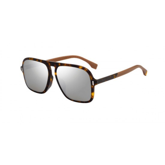 Fendi FF M0066/F/S  - 086  T4 Dark Havama | Sunglasses Man