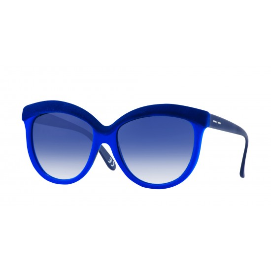 Italia Independent I-I MOD. 0092 VELVET BICOLOR - 0092V2.021.022 Blue Blue | Sunglasses Woman