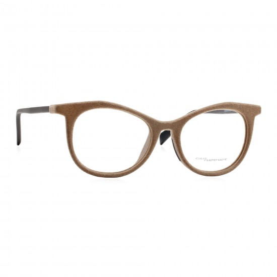 Italia Independent I-PLASTIK 5605V - 5605V.041.000 Brown Multicolor | Eyeglasses Woman