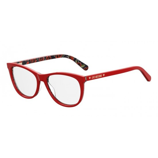 Moschino MOL524 - C9A  Red | Eyeglasses Woman
