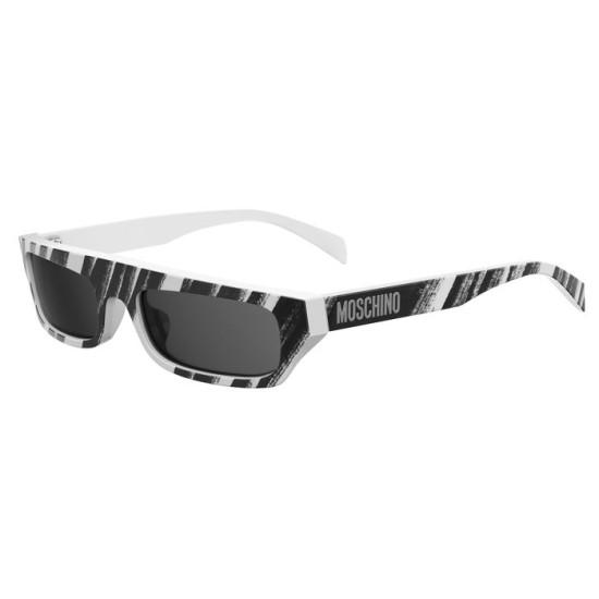 Moschino MOS047/S - 7RM IR Black Gold Tobacco Ochre Pequi | Sunglasses Woman