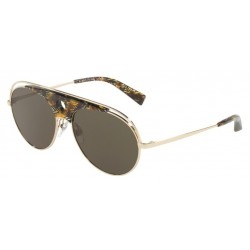 Alain Mikli A0 4010 Toujours 002/71 Brown Yellow / Light Gold
