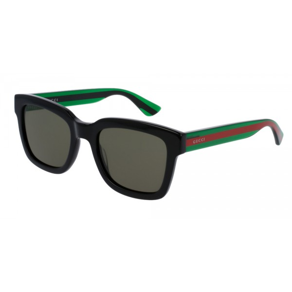Gucci GG0001S 002 Black Green