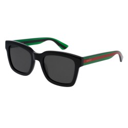 Gucci GG0001S 006 Black Green Polarized