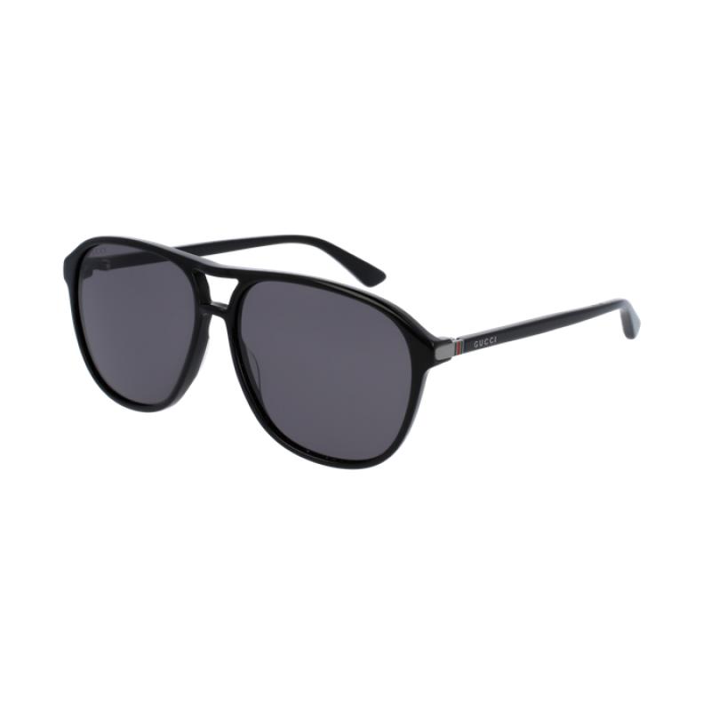 e5240f6b6e5 Gucci GG0016S 006 Black Polarized