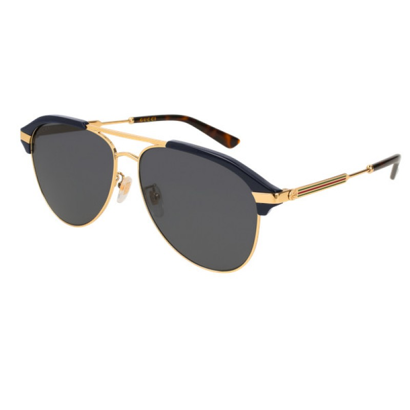 9cd4baee01f Gucci GG0288SA - 001 Black Man Aviator