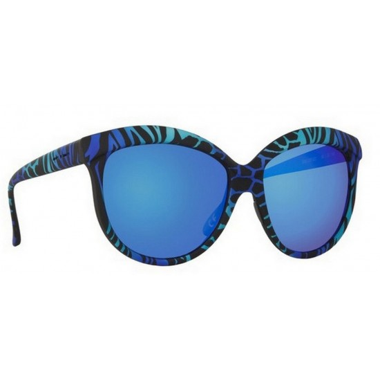 Italia Independent I-PLASTIK 0092 - 0092.ZEF.022 Multicolor Blue | Sunglasses Woman