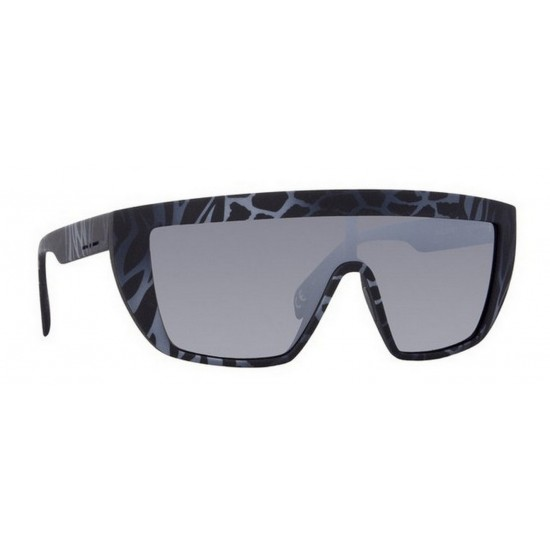 Italia Independent I-I MOD. 0912 - 0912.ZEF.071 Multicolor Grey | Sunglasses Unisex