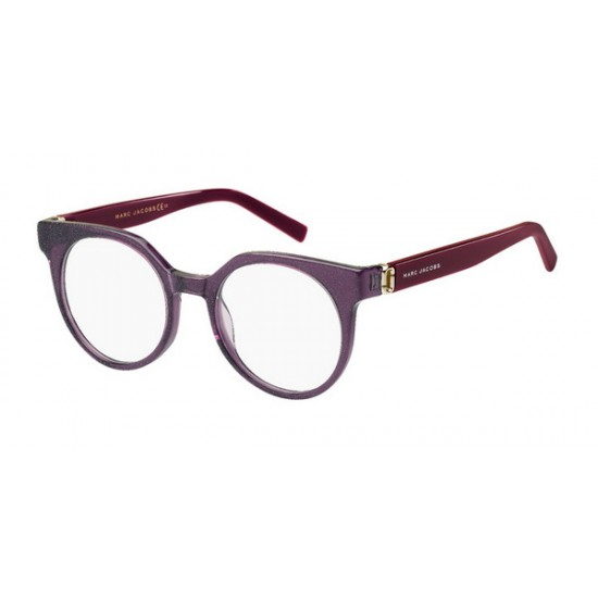Marc Jacobs MJ 114 - OBC Glitter Violet Burgundy | Eyeglasses Woman