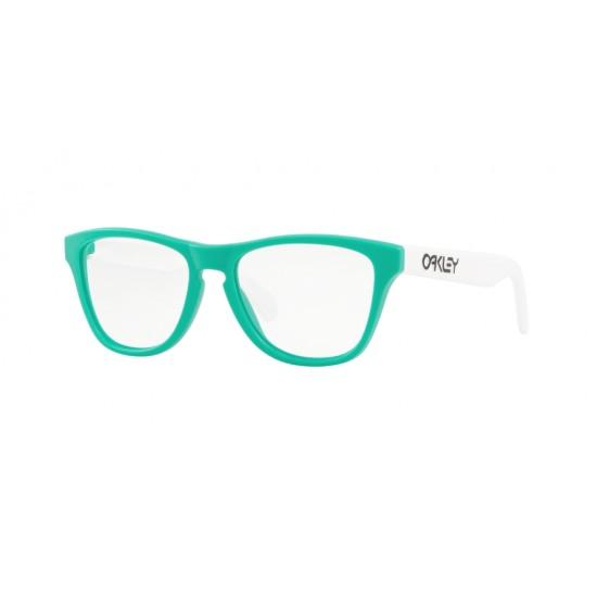 Oakley OY 8009 Rx Frogskins Xs 800905 Satin Celeste   Eyeglasses Kid Male