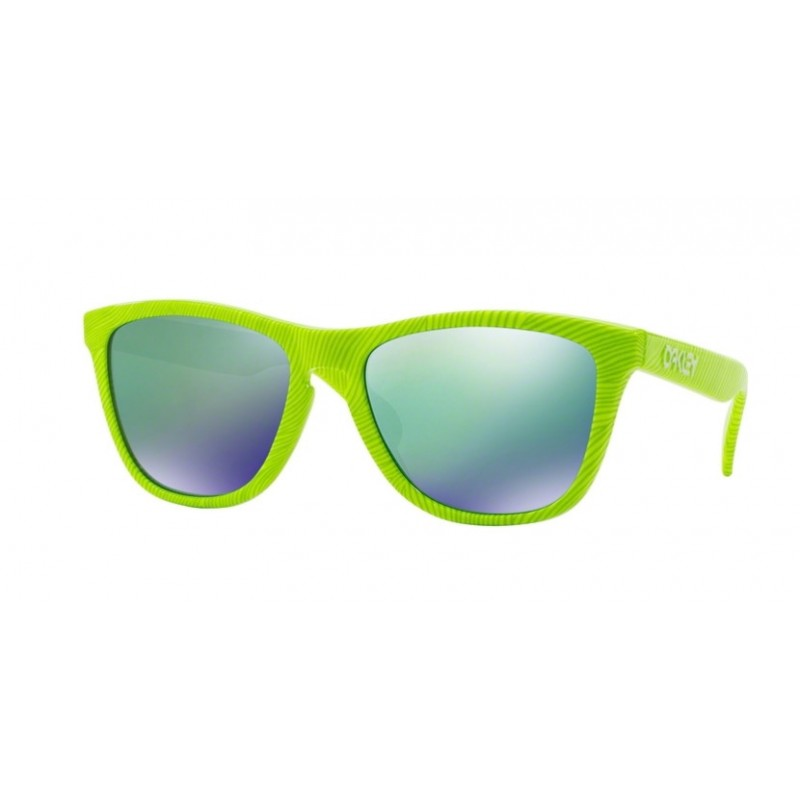 Oakley Frogskins Fingerprint Retina Burn Sonnenbrille - black iridium OO 9013-54 GMyOJ