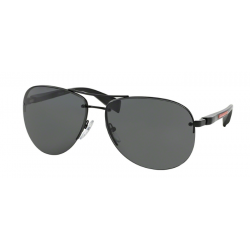 Prada Linea Rossa PS 56MS - 1BO1A1 Black Demi Shiny