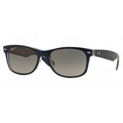 Ray-Ban RB 2132 New Wayfarer 6053M3 Top Blue On Transparent
