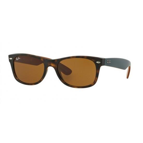 Ray-Ban RB 2132 New Wayfarer 6179 Matte Havana | Sunglasses Man