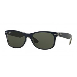Ray-Ban RB 2132 New Wayfarer 6188 Mt Blue/military Green