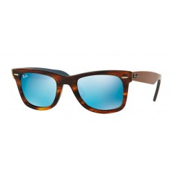Ray-Ban RB 2140 117617 Wayfarer Original Striped Havana