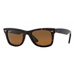 Ray-Ban RB 2140 902-57 Wayfarer Original Polarized Tortoise
