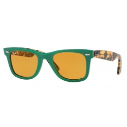 Ray-Ban RB 2140 1240N9 Wayfarer Original Green Polarized