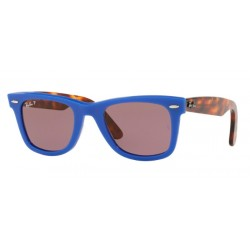 Ray-Ban RB 2140 1241W0 Wayfarer Original Blue Polarized