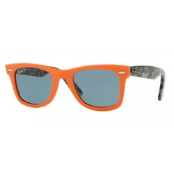 Ray-Ban RB 2140 124252 Wayfarer Original Orange Polarized