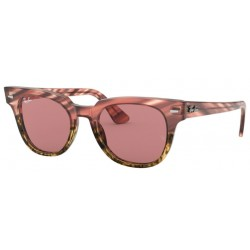 Ray-Ban RB 2168 Meteor 1253U0 Pink Gradient Beige Stripped