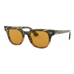 Ray-Ban RB 2168 Meteor 12683L Green Gradient Brown Stripped