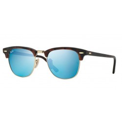 Ray-Ban RB 3016 114517 Clubmaster Havana Sand Gold