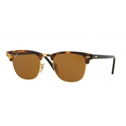 Ray-Ban RB 3016 Clubmaster 1160 Spotted Brown Havana