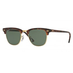 Ray-Ban RB 3016 Clubmaster 990/58 Red Havana