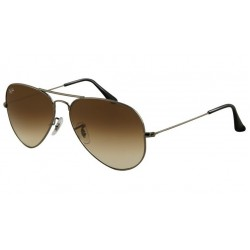 Ray-Ban RB 3025 004-51 Aviator Large Metal Gunmetal