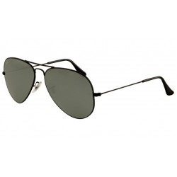 Ray-Ban RB 3025 002-40 Aviator Large Metal Black