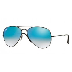Ray-Ban RB 3025 002 4O Aviator Large Metal Black