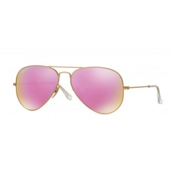 Ray-Ban RB 3025 112 1Q Aviator Large Metal Matte Gold