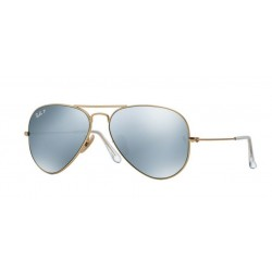 Ray-Ban RB 3025 112 W3 Aviator Large Metal Matte Gold
