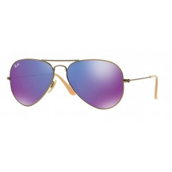 Ray-Ban RB 3025 167 1M Aviator Large Metal Bronze