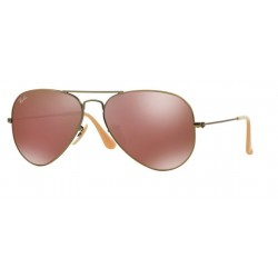 Ray-Ban RB 3025 167 2K Aviator Large Metal Bronze