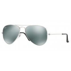Ray-Ban RB 3025 W3275 Aviator Large Metal Silver