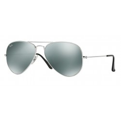 Ray-Ban RB 3025 W3277 Aviator Large Metal Silver