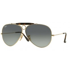 Ray-Ban RB 3138 181-71 Shooter Gold