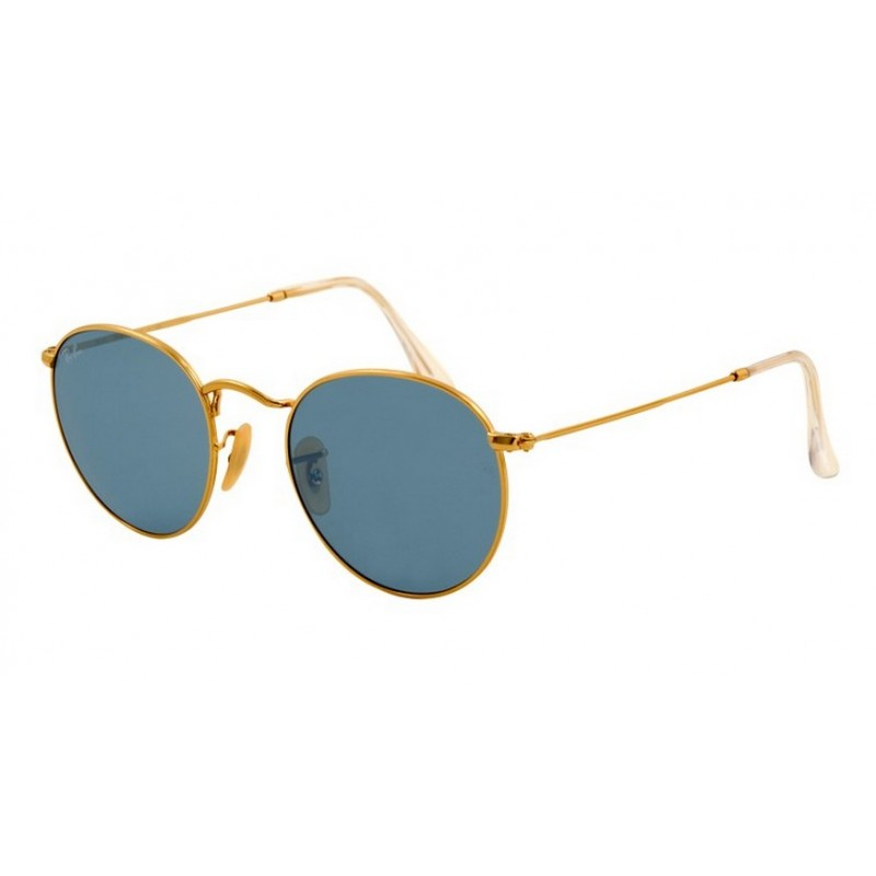Ray-Ban RB 3447 001-62 Round Metal Gold de8a11fd6afc