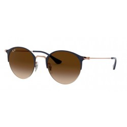 Ray-Ban RB 3578 - 917513 Copper On Top Dark Blue
