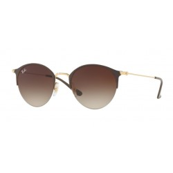 Ray-Ban RB 3578 - 900913 Gold Top Brown