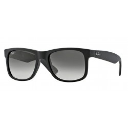 Ray-Ban RB 4165 601-8G Justin Black Rubber
