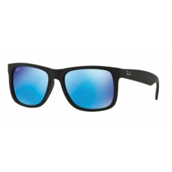 Ray-Ban RB 4165 622-55 Justin Black Rubber