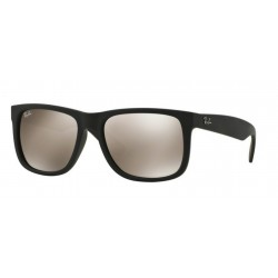 Ray-Ban RB 4165 622-5A Justin Rubber Black