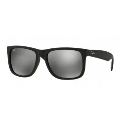 Ray-Ban RB 4165 622-6G Justin Rubber Black