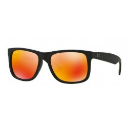 Ray-Ban RB 4165 622-6Q Justin Rubber Black