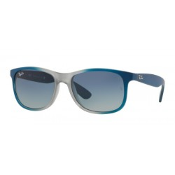 Ray-Ban RB 4202 ANDY 63704L GRAD BLUE/RUBBER LIGHT GREY TR