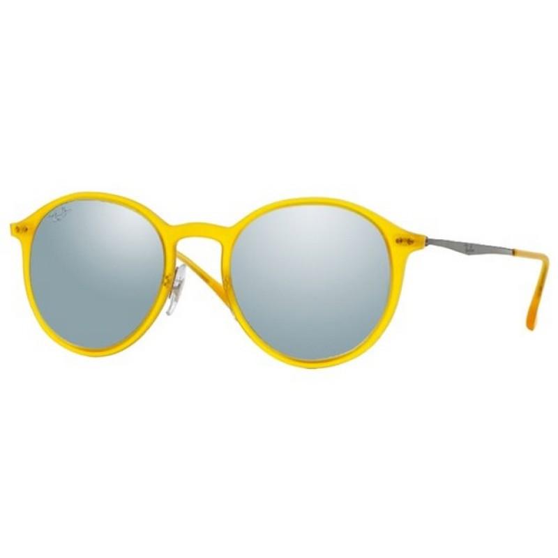 3539bb1b097 ... sunglasses 7e350 f02cf  netherlands ray ban rb 4224 618630 tech light  ray matte opal yellow 20bc2 18203