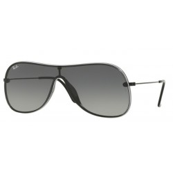 Ray-Ban RB 4311N - 629911 Black On Top White